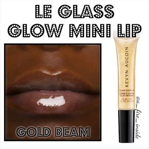 LE KEVYN AUCOIN Glass Glow MINI Lip Gold Beam